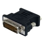 DVI to VGA Cable Adapter M/F Black - 10 Pack DVI Male to VGA Female Adapter - 10 pack Black DVI-I to VGA Adapter