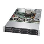 "Super Micro Supermicro SuperStorage Server 6028R-E1CR12H - Server - rack-mountable - 2U - 2-way - RAM 0 MB - SAS - hot-swap 3.5"" - no HDD - AST2400 - GigE, 10 GigE - no OS - monitor: none SSG-6028R-E1CR12H"