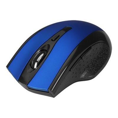 SIIG6-Button Ergonomic Wireless Optical Mouse - Blue(JK-WR0B12-S1)