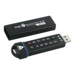 Aegis Secure Key 3.0 - USB flash drive - encrypted - 60 GB - USB 3.0