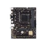 A68HM-PLUS - Motherboard - micro ATX - Socket FM2+ - AMD A68H - USB 3.0 - Gigabit LAN - onboard graphics (CPU required) - HD Audio (8-channel)