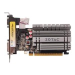 Zotac GeForce GT 730 - Graphics card - GF GT 730 - 4 GB DDR3 - PCIe 2.0 x16 low profile - DVI, D-Sub, HDMI - fanless ZT-71115-20L