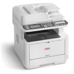 Oki MB 472dnw - Multifunction printer - B/W - LED - A4 (210 x 297 mm) (original) - A4 (media) - up to 33 ppm (copying) - up to 33 ppm (printing) - 350 sheets - 33.6 Kbps - Gigabit LAN, Wi-Fi(n), USB host, USB 2.0 62444801