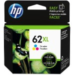 HP Inc. 62XL High Yield Tri-color Original Ink Cartridge C2P07AN#140