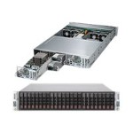 "Supermicro SuperServer 2028TP-DNCTR - 2 nodes - cluster - rack-mountable - 2U - 2-way - RAM 0 MB 2.5"" - no HDD - AST2400 - GigE, 10 GigE - monitor: none"