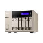 TVS-663 Turbo NAS - NAS server - 6 bays - SATA 6Gb/s - RAID 0, 1, 5, 6, 10, 5 hot spare, 6 hot spare, 10 hot spare - Gigabit Ethernet - iSCSI