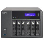 TVS-671 - NAS server - 6 bays - SATA 6Gb/s - RAID 0, 1, 5, 6, 10, JBOD, 5 hot spare - Gigabit Ethernet - iSCSI