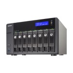 TVS-871 - NAS server - 8 bays - SATA 6Gb/s - RAID 0, 1, 5, 6, 10, JBOD, 5 hot spare - Gigabit Ethernet - iSCSI