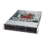 Supermicro SC216 E2-R900LPB - Rack-mountable - 2U - extended ATX - SATA/SAS - hot-swap 900 Watt - black
