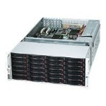 Supermicro SC847 E2-R1400LPB - Rack-mountable - 4U - extended ATX - SATA/SAS - hot-swap - power supply - redundant  1400 Watt - black