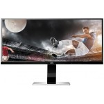 """Professional U3477PQU - LED monitor - 34"""" - 3440 x 1440 - IPS - 320 cd/m2 - 1000:1 - 80,000,000:1 (dynamic) - 5 ms - HDMI, DVI-D, VGA, DisplayPort - speakers - black"""
