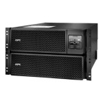 Smart-UPS SRT 8000VA RM - UPS (rack-mountable) - AC 208 V - 8000 Watt - 8000 VA - Ethernet 10/100, USB - output connectors: 7 - 6U - black