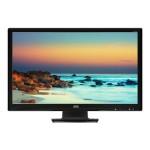 "E2727SHE - LED monitor - 27"" (27"" viewable) - 1920 x 1080 Full HD (1080p) - 300 cd/m² - 2 ms - HDMI, DVI-D, VGA - glossy black"