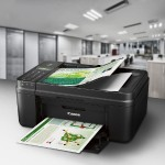 PIXMA MX492 - Multifunction printer - color - ink-jet - Legal (8.5 in x 14 in), 8.5 in x 11.7 in (original) - Legal (media) - up to 8.8 ipm (printing) - 100 sheets - 33.6 Kbps - USB 2.0, Wi-Fi(n) - black with  InstantExchange
