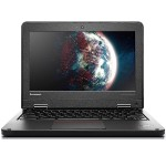 "Lenovo ThinkPad 11e Chromebook 20DU - Celeron N2940 / 1.83 GHz - Chrome OS - 4 GB RAM - 16 GB eMMC - 11.6"" 1366 x 768 (HD) - HD Graphics - Wi-Fi - graphite black 20DU0009US"