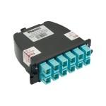 QuickNet MTP Fiber Optic Cassettes - Pre-terminated fiber optic cassette - LC MM X 12
