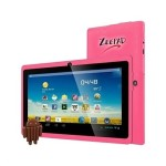 "Zeepad 7DRK-Q - Tablet - Android 4.4 (KitKat) - 4 GB - 7"" TFT (800 x 480) - USB host - microSD slot - pink"