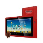 "Worry Free Gadgets Zeepad 7DRK-Q - Tablet - Android 4.4 (KitKat) - 4 GB - 7"" TFT ( 800 x 480 ) - USB host - microSD slot - red 7DRK-Q-RED"