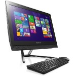 "Lenovo C40-05 AMD Quad-Core A6-6310 2.40GHz All-in-One PC - 8GB RAM, 1TB HDD, 21.5"" LED FHD, 802.11ac, Webcam F0B5000HUS"