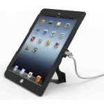 Lockable iPad Air Security Case with 6-Foot Cable - Black