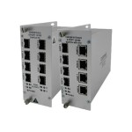 CNFE8TX8US - Switch - unmanaged - 8 x 10/100 - rack-mountable, wall-mountable
