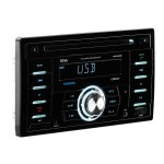 Boss Audio Systems 824UAB - Car - CD receiver - in-dash - Double-DIN - 80 Watts x 4 824UAB