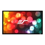 SableFrame ER100WH1-A1080P3 - Projection screen - 100 in ( 100 in ) - 16:9 - AcousticPro1080P2 - black