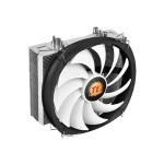 ThermalTake Frio Silent 12 - Processor cooler - ( LGA775 Socket, LGA1156 Socket, Socket AM2, Socket AM2+, LGA1366 Socket, Socket AM3, LGA1155 Socket, Socket AM3+, LGA2011 Socket, Socket FM1, Socket FM2, LGA1150 Socket ) - aluminum with copper base - 120 mm CL-P001-AL12BL-B