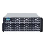 EonStor DS 3024RT - High IOPS - hard drive array - 24 bays (SAS-2) - iSCSI (1 GbE) (external) - rack-mountable - 4U