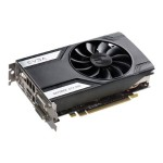 GeForce GTX 960 Superclocked - Graphics card - GF GTX 960 - 2 GB GDDR5 - PCIe 3.0 x16 - 2 x DVI, HDMI, DisplayPort