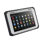 Panasonic Toughpad FZ-B2 - Tablet - Android 4.4.4 (KitKat) - 32 GB eMMC ( 1280 x 800 ) - rear camera + front camera - barcode reader - microSD slot - Wi-Fi, Bluetooth - 4G - Verizon - with Toughbook Preferred Service FZ-B2B008BBM