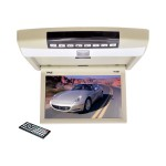 Pyle PLRD94 - DVD player with LCD monitor - display - 9.4 in - external PLRD94