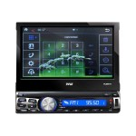 Pyle PLRNV71 - Navigation system - display - 7 in - touch screen - in-dash unit - Full-DIN PLRNV71