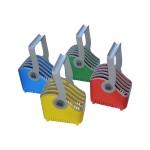Small 5-slot Device Basket - Basket for 5 tablets - cart mountable (pack of 4)