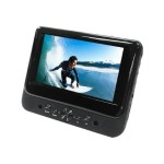 e-matic ED717 - DVD player with LCD monitor / LCD monitor - display - 7 in - external ED717