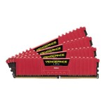 Vengeance LPX - DDR4 - 16 GB : 4 x 4 GB - DIMM 288-pin - 3200 MHz / PC4-25600 - CL16 - 1.35 V - unbuffered - non-ECC - with 2 x memory fan