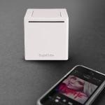 Sugarcube Mini-Portable Bluetooth Speaker - White