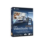 Corel VideoStudio Ultimate X8 - Box pack - 1 user - DVD ( mini-box ) - Win - Multilingual VSPRX8ULMLMBAM