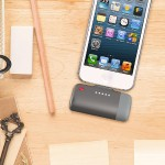 PowerClip Battery for iPhones with a Lightning connector