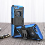 i-Blason iPhone 6s & 6s & 6 Prime Dual Layer Holster Case with Kickstand and Belt Clip - Blue IP6-4.7-PRIME-BLUE