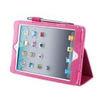 Slim Book - Protective cover for tablet - synthetic leather - pink - for Apple iPad mini; iPad mini 2