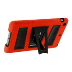 ArmorBox 2 Layer Full-Body Protection KickStand Case for iPad Air 2 - Red / Black