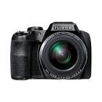 Fujifilm FinePix S9800 - Digital camera - High Definition - compact - 16.2 MP - 50 x optical zoom - Fujinon - Wi-Fi - black 16452279