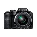 FinePix S9800 - Digital camera - High Definition - compact - 16.2 MP - 50 x optical zoom - Fujinon - Wi-Fi - black