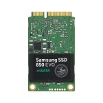 850 EVO MZ-M5E500BW - Solid state drive - encrypted - 500 GB - internal - mSATA - SATA 6Gb/s - buffer: 512 MB - Self-Encrypting Drive (SED), TCG Opal Encryption