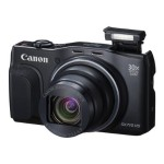 Canon PowerShot SX710 HS - Digital camera - compact - 20.3 MP - 30 x optical zoom - Wi-Fi, NFC - black 0109C001