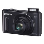 PowerShot SX610 HS - Digital camera - High Definition - compact - 20.2 MP - 18 x optical zoom - Wi-Fi, NFC - black