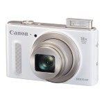 Canon PowerShot SX610 HS - Digital camera - compact - 20.2 MP - 1080p - 18x optical zoom - Wi-Fi, NFC - white 0112C001