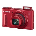 Canon PowerShot SX610 HS - Digital camera - High Definition - compact - 20.2 MP - 18 x optical zoom - Wi-Fi, NFC - red 0113C001