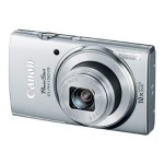 PowerShot ELPH 160 - Digital camera - High Definition - compact - 20.0 MP - 8 x optical zoom - black